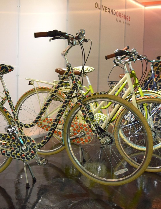 The new Olive and Orange by Orla Kiely range at Halfords