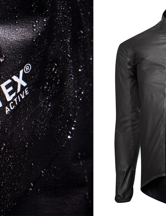 New Gore-Tex Active fabric is used on jackets by Castelli and Gore itself