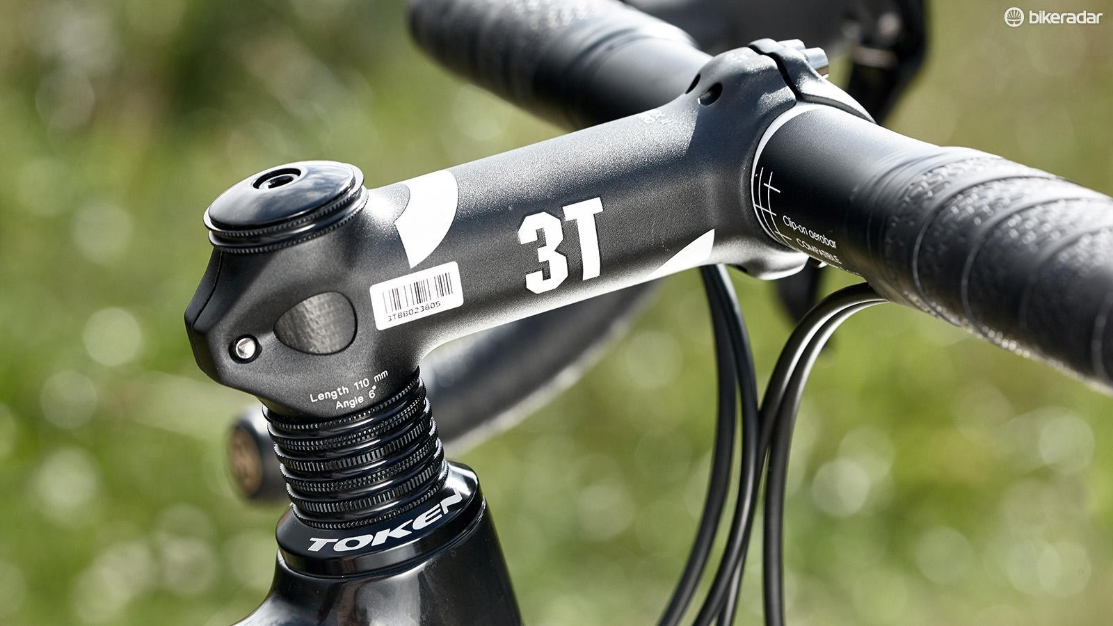 The stretched-thin bar tape wasn't as comfortable as it could be