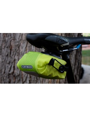 Ortlieb's Saddle Bag Micro is compact and easy to install