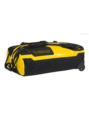 The long, lockable zip is a boon, though a guard behind it would nullify the risk of snagging on the contents