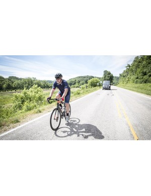 Our test riding was in Wisconsin's Blue Mounds national park, which hosts the Horribly Hilly 100 sportive