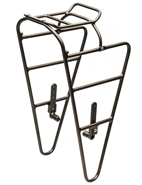 Yes, it is possible to get excited by a pannier rack