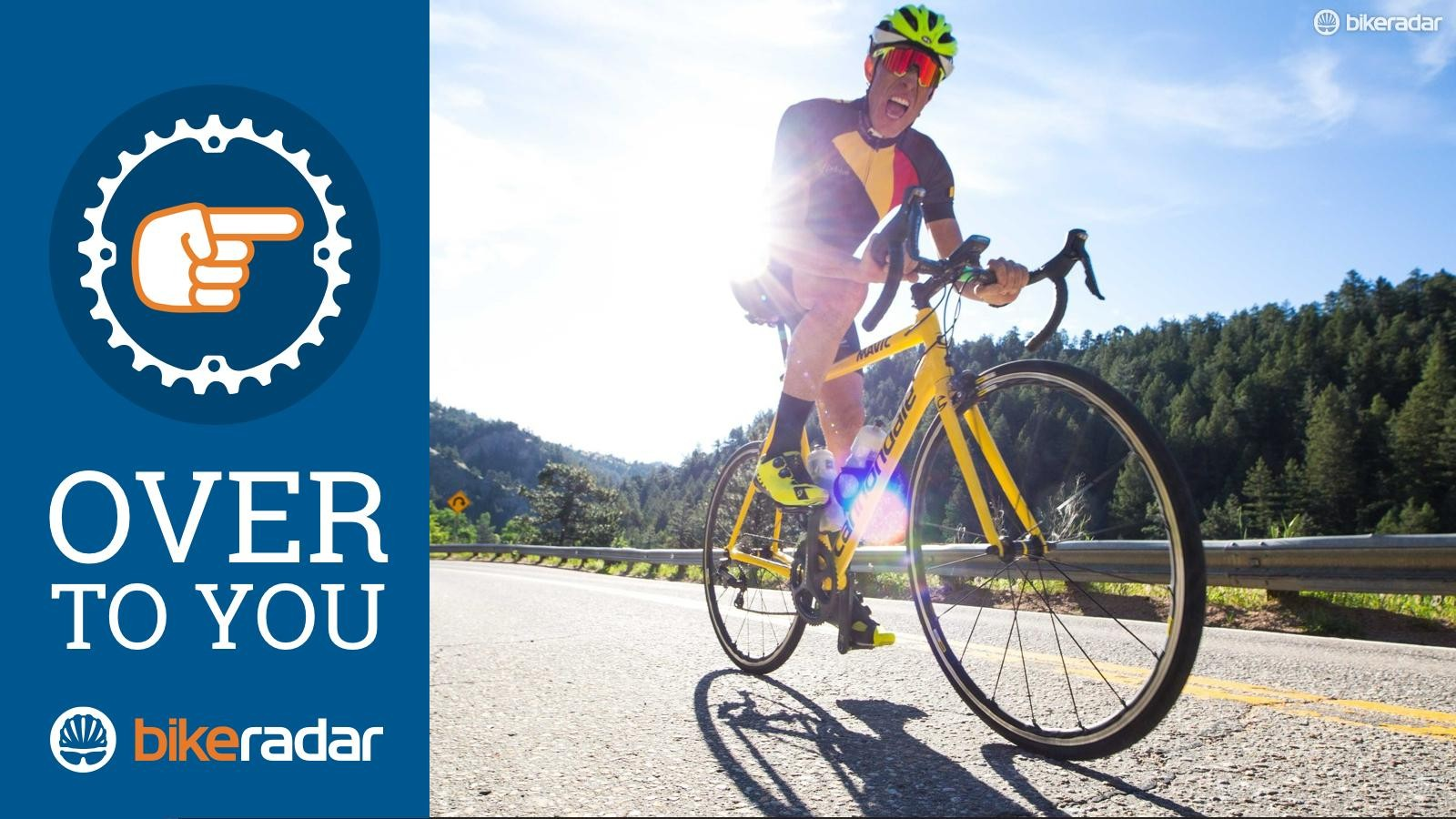 Over to you: Why do you ride?