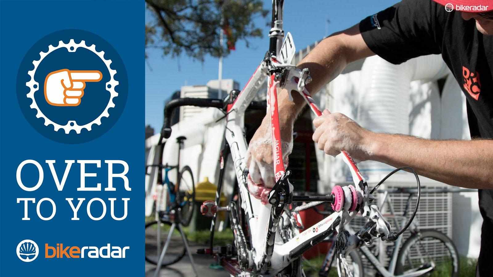 What bike maintenance do you hate to do?