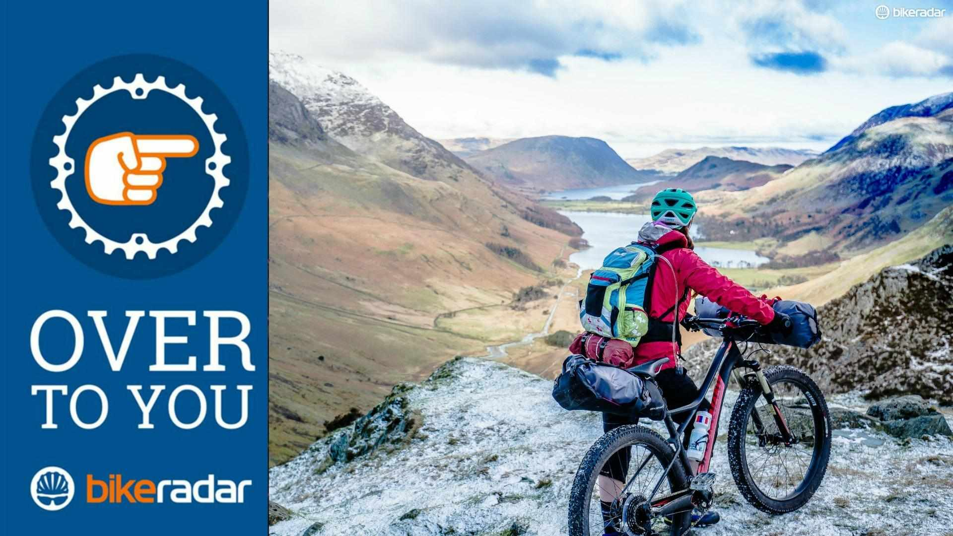 Bucket list rides don't need to be miles away. The Lake District in the UK delivered this outstanding view