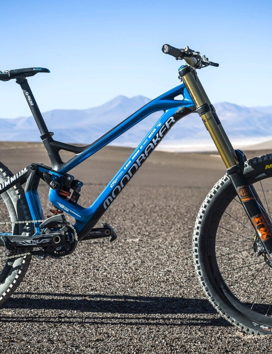 The Austrian rider chose Mondraker's Summum Carbon Pro Team for his world record attempt