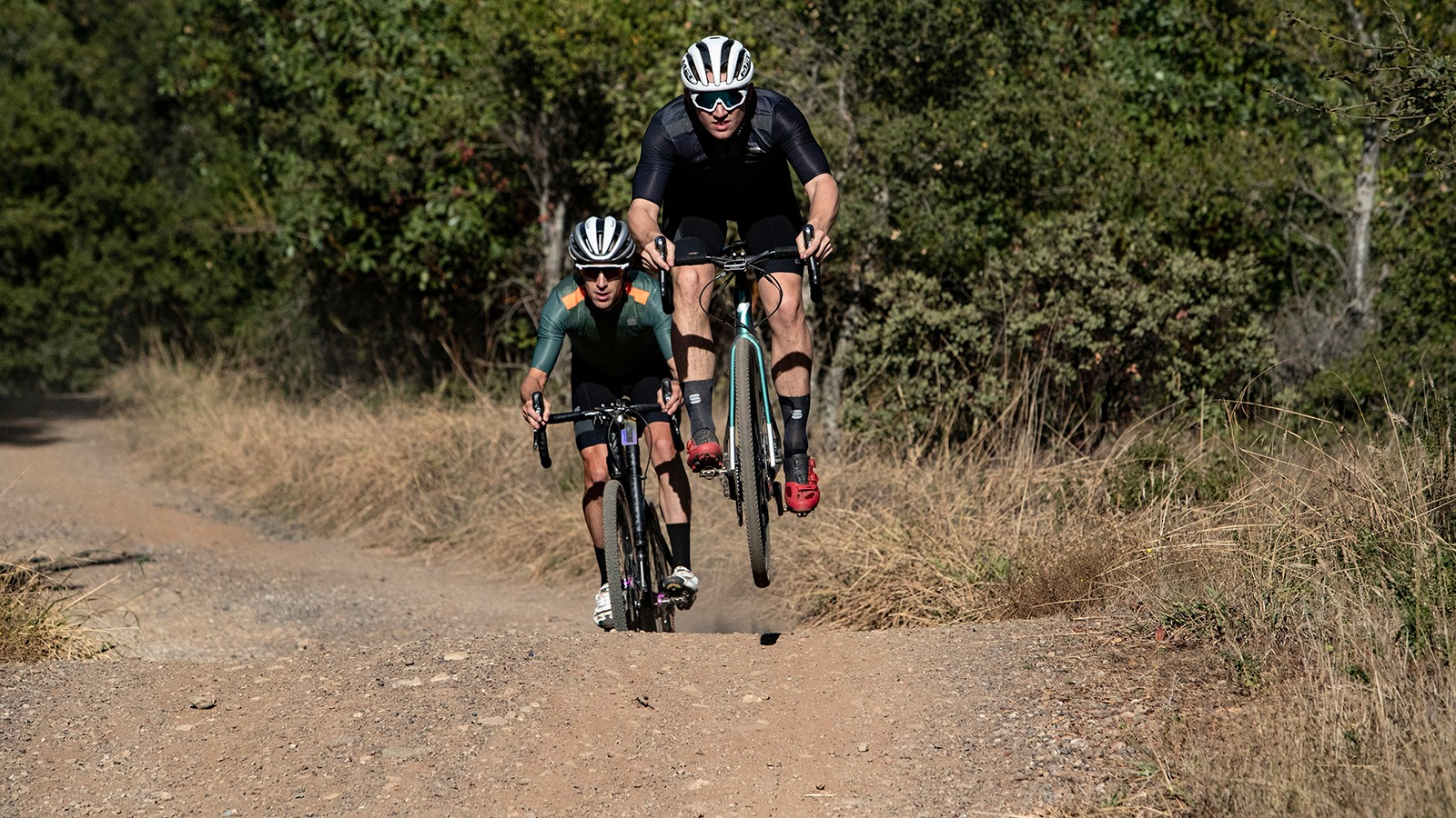 Riding hard and fast on gravel can be a blast