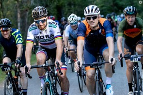 Being able to ride alongside Peter Sagan is very cool