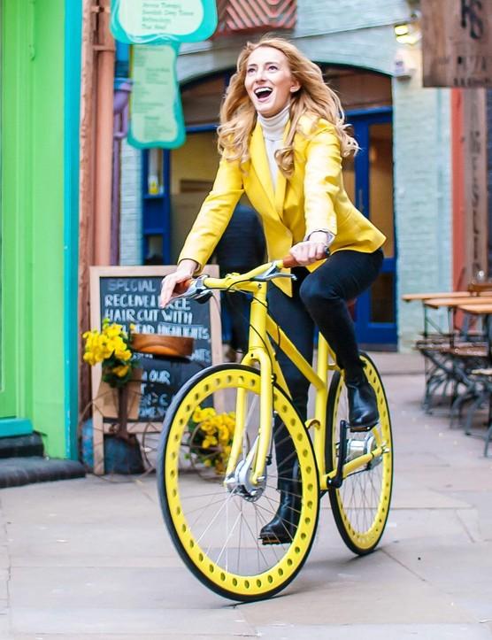 The Urbanized Ladies' Bike in Yellow