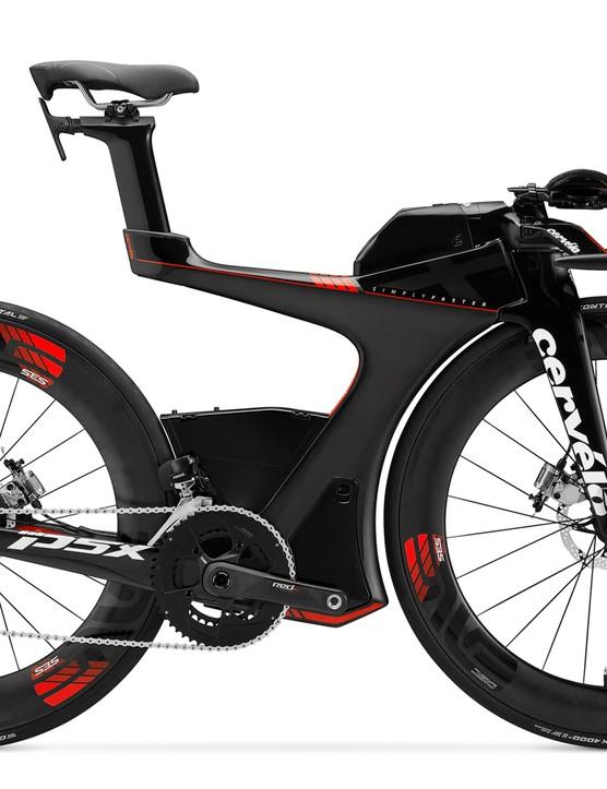 Cervélo's radical new P5X triathlon bike
