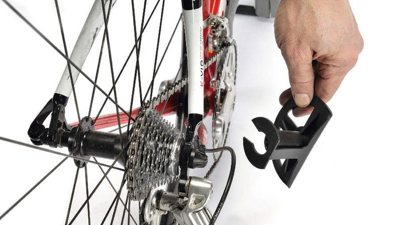 If you're not taking off the rear mech, use a derailleur shield