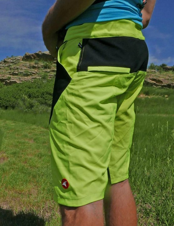 With a rise in the back and behind the knees, these shorts are pedal friendly