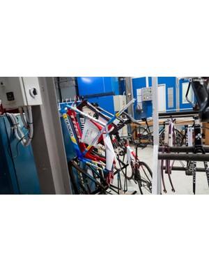 We spotted a few hidden gems around the Paint My Bike workshop