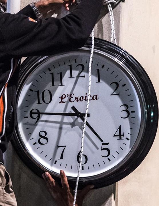 No digital clocks allowed