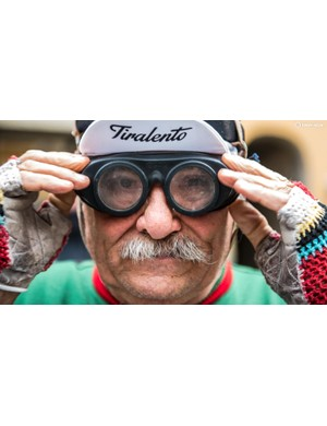 Moustache - check, woollen mitts - check, rubber goggles - check!