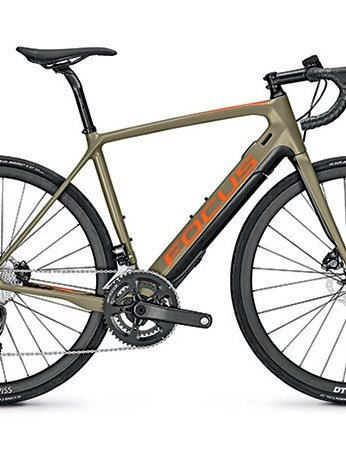It's also available in this rather cool matt olive green and orange colourway
