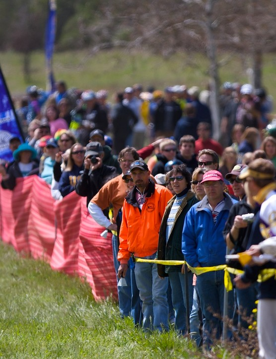 Parents await the start-line stampede at Grants Ranch