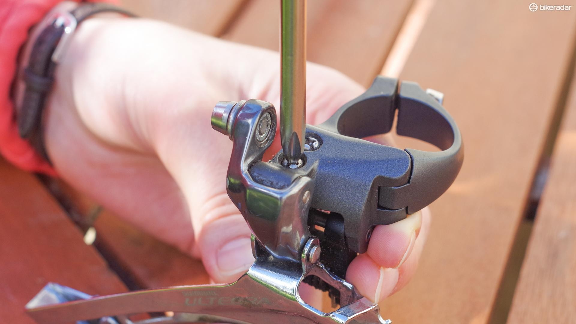 The DSD-2 fits Shimano limit screws perfectly