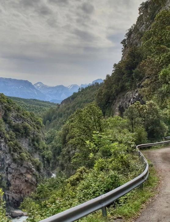 Parque Nacional de Ordesa y Monte Perdido - just one of many, many places Decraene rode in June