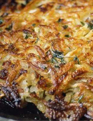 Enjoy this rosti with a festive twist
