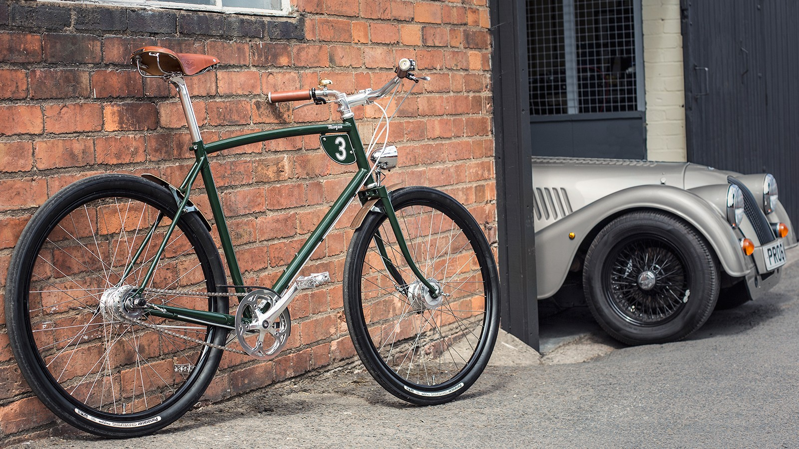 Two British icons, Pashley Cycles and Morgan Motor Company, are collaborating on a range of handcrafted bikes