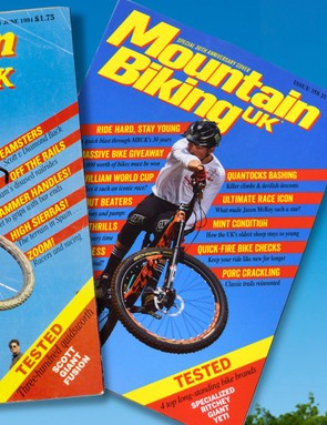 The anniversary edition recreates MBUK's classic Jason McRoy cover