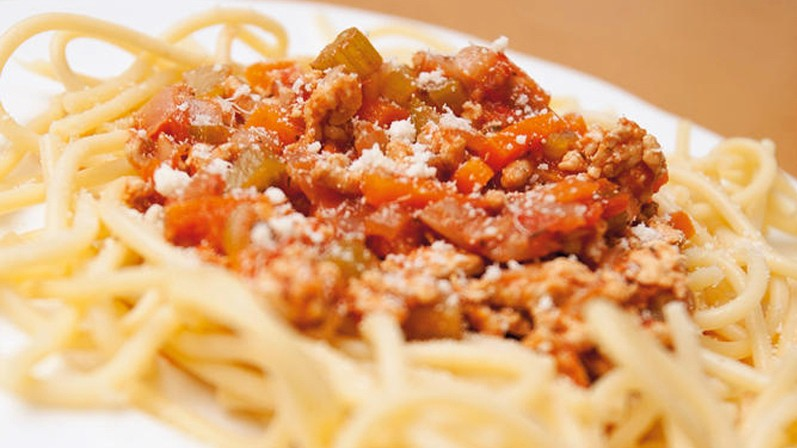 Pasta is a good high GI option, but there's no need to overdo your intake