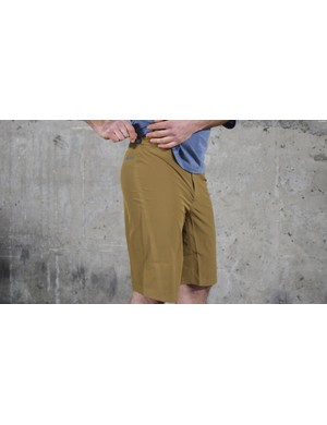 The Dirt Roamer shorts are light and sleek