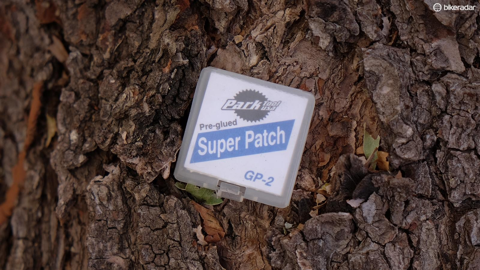 Patch kits take up very little room in your pack and are a necessity when you've used your last tube