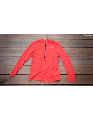 While designed primarily for trail running, the Patagonia Fore Runner is equally useful on chilly mountain bike rides