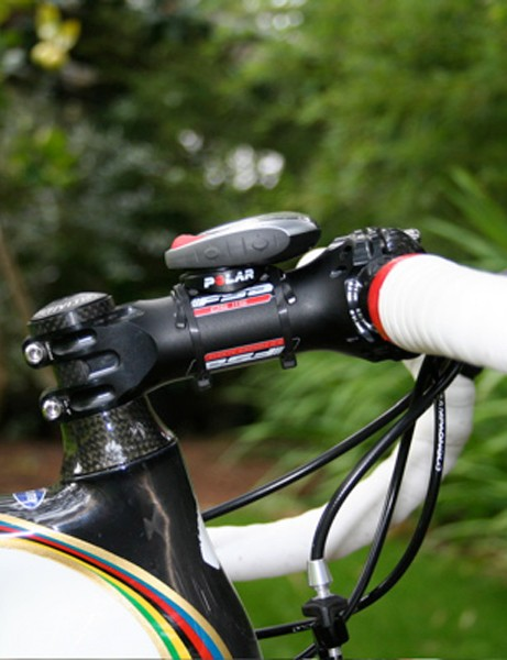 Because of the extra small frame size Bettini uses a 120mm stem from FSA.