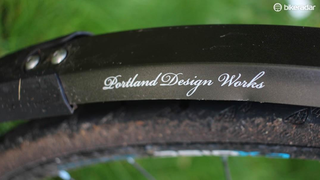The Portland Design Works Full Metal Fenders are my new winter riding protection