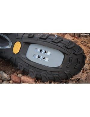The sole has plenty of Vibram rubber lugs