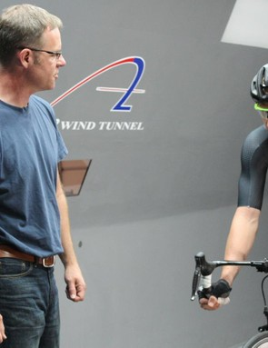 Ted Barber is Pearl Izumi's director of innovation and advanced development. He has worked with numerous pro teams and multiple wind tunnels on aerodynamic clothing design
