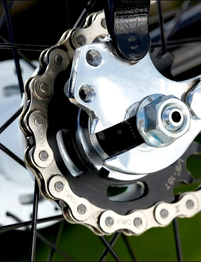 The hubs in particular are amongst the best we've seen for outdoor use, as most track hubs aren't well sealed enough for the wet and grime of daily use.