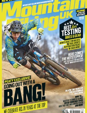 As he prepares to retire from competition, Peaty graces MBUK's redesigned cover