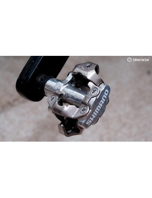 There's nothing wrong with using MTB pedals on the road