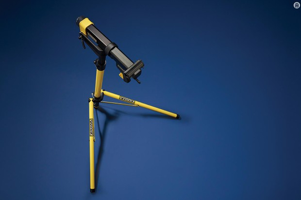Pedro's Folding Repair Stand isn't cheap but is an impressive and transportable option