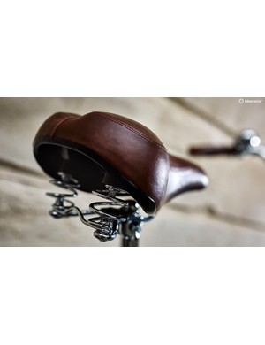 …and recommend upgrading the saddle