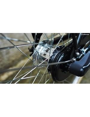 The five-speed Sturmey Archer hub gear