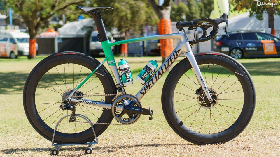 06a219e1522 Former world champion Peter Sagan will ride an alloy Specialized Allez  Sprint Disc at the Tour