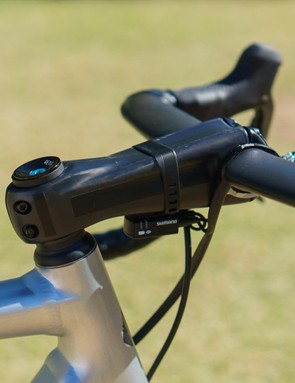 As ever, Sagan opts for an unmarked Zipp Sprint SL stem