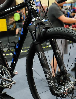 SyCip built a gravel bike with an extra-wide rear end to accept the 150mm rear hub