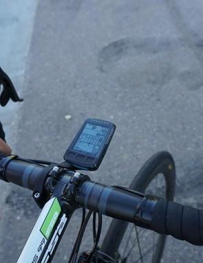 Wahoo's new Elemnt Bolt GPS computer has a Strava Live Segment function