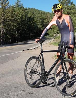 A man, his bike, and more than 940 Strava KOM crowns