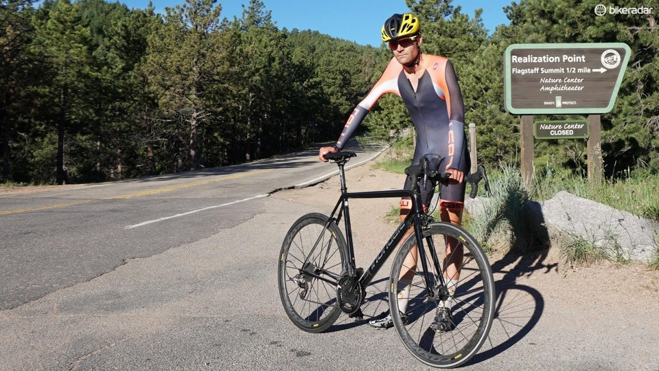 Ex-pro targets Strava KOMs with funky bike and world-class power