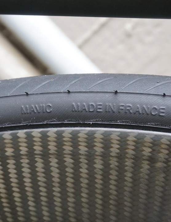 Clinchers can made with lower rolling resistance than the tubular tires that pros normally race