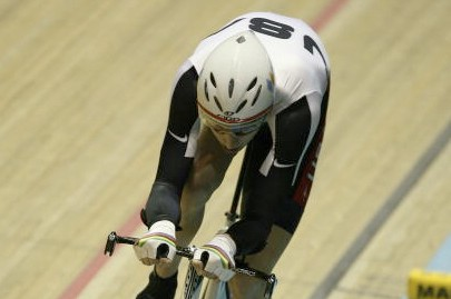 American teen Taylor Phinney in Manchester Wednesday.