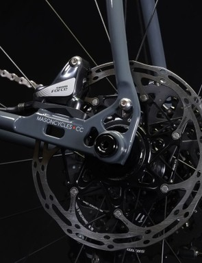 Mason Cycles developed an exclusive rear dropout for the updated Resolution frameset
